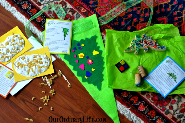 Green Kids Crafts Monthly Craft Subscription Service lot of crafts