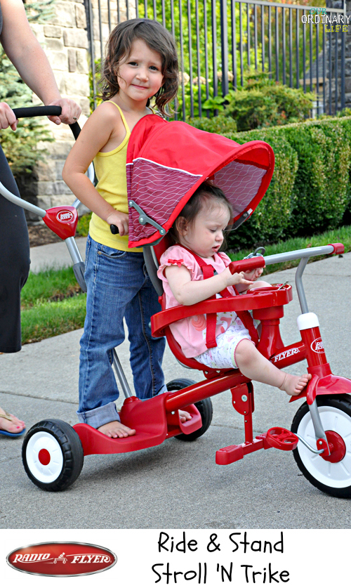 Radio Flyer Trike for 2 riders 4 in 1  (1)