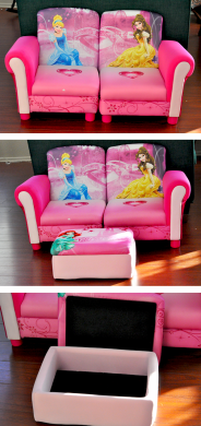 Delta Childrens 3pc Disney Princess Couch  3      Our Ordinary Life Delta Childrens 3pc Disney Princess Couch  3