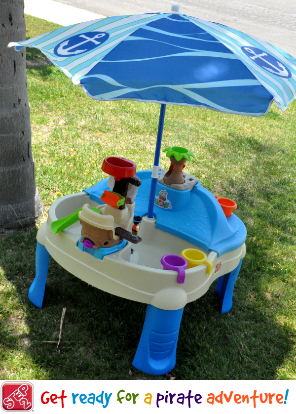 high seas water and sand table