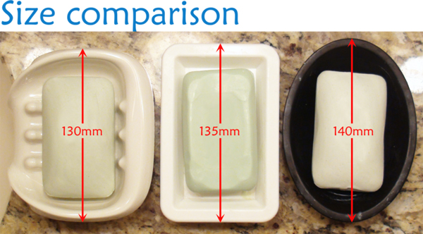 soap seat size