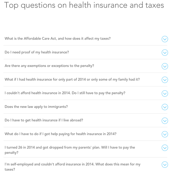TurboTax Healthcare Website (4)