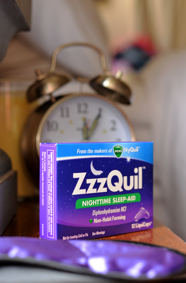 ZzzQuil NyQuil Nighttime Sleep aid alarm clock