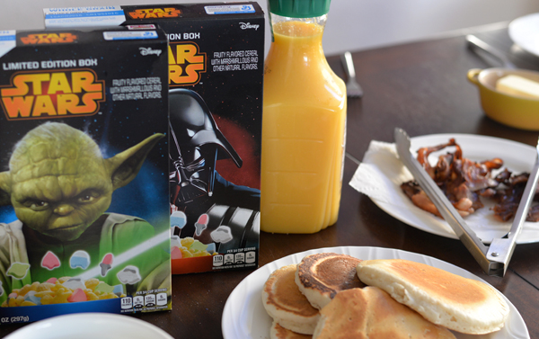 GM StarWars Limited Edition Cereal Box  (2)