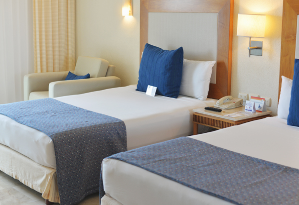 Park Royal Cozumel Mexico 2 Queen Bed room
