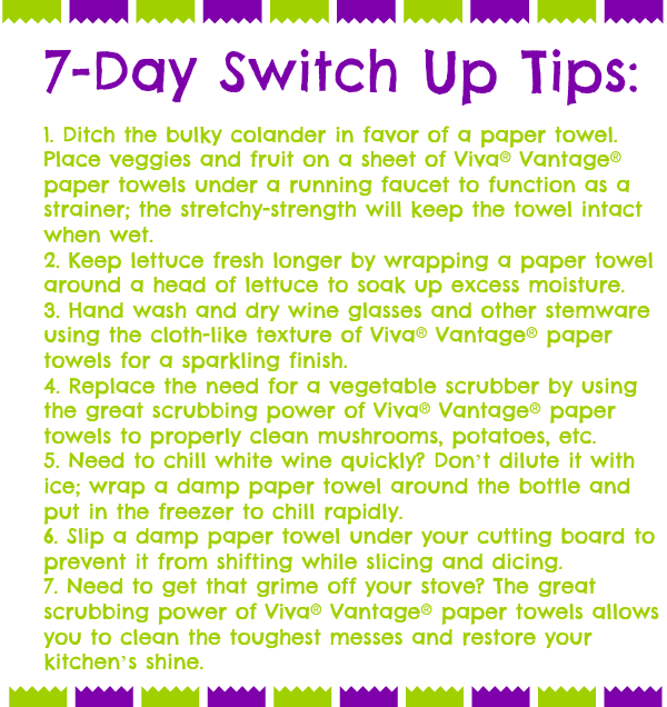 7 day switch tips