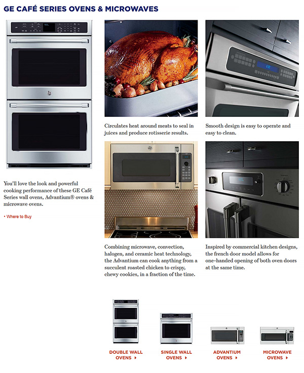 GE Cafe Microwave oven appliances