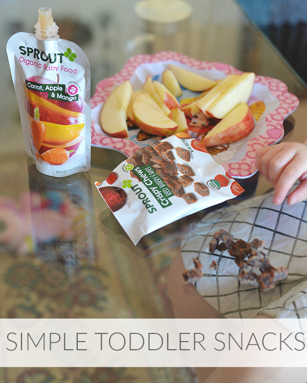 simple toddler snacks