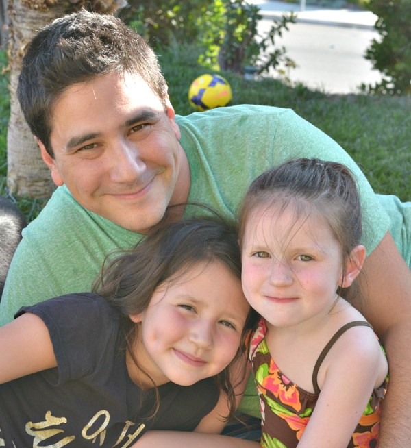 del dad and girls