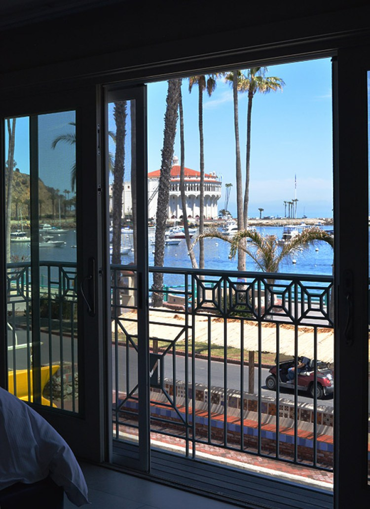 metropole catalina islands ca view of casino from bedroom