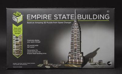 empire state building coin bank
