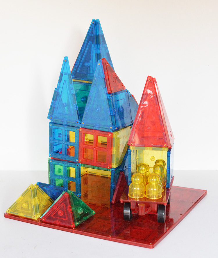 magnetic stick n stack magnetic building large home