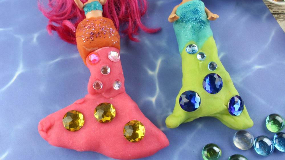 make your own mermaid tail