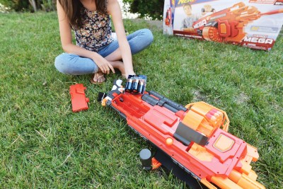 duracell batteries nerf products