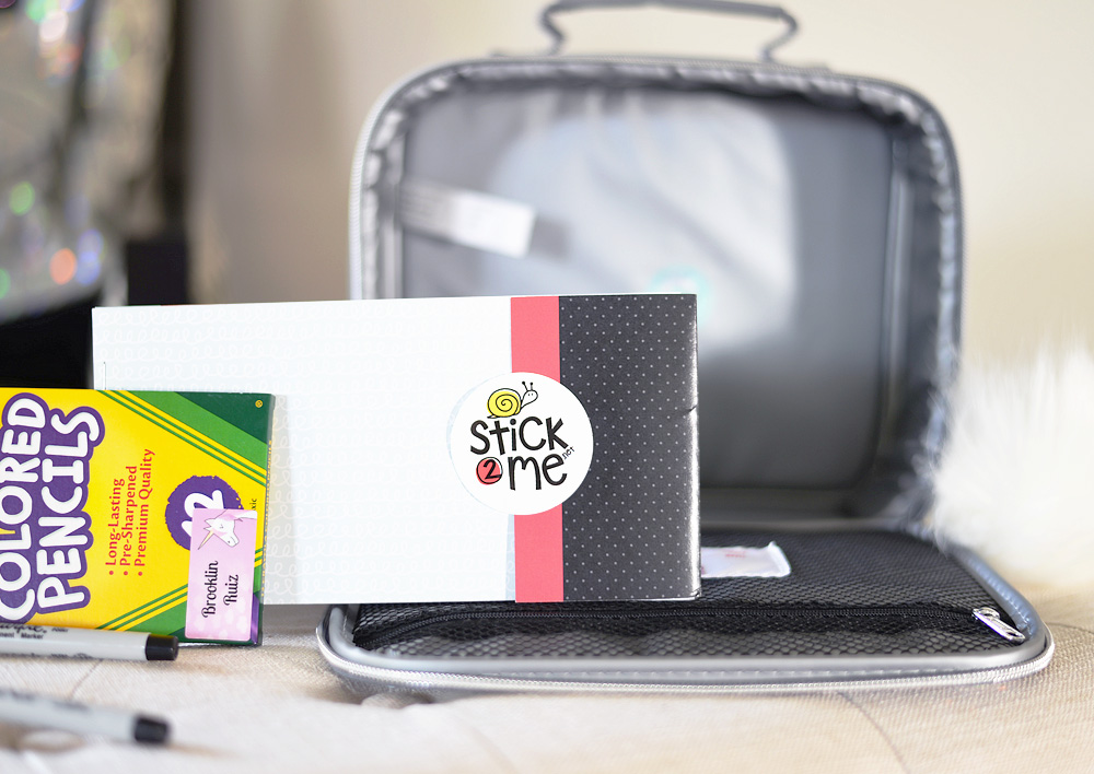Stick2Me tags for school