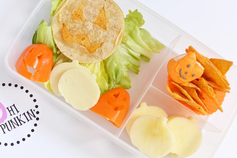 easy halloween lunchbox for kids