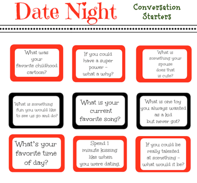 date night conversation starters