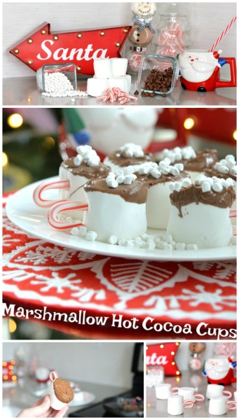 Marshmallow Hot Cocoa Cups