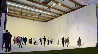 CANDYTOPIA blank canvas room swinging rope giant balls