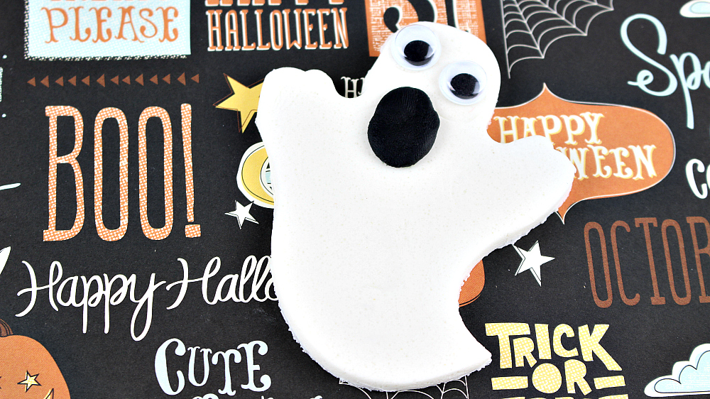 Marshmallow Scented Ghost Playdough