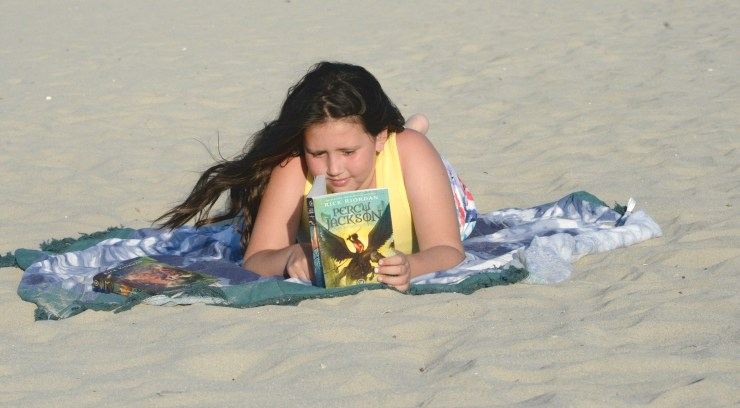 Creating Our Own Percy Jackson Beach Adventure