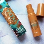 benefit dew the hoola bronzer review mỹ phẩm swatch