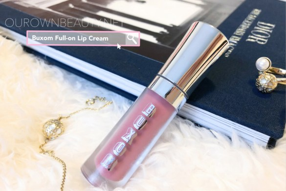 review swatch son căng môi bơm môi buxom full on lip cream màu dolly