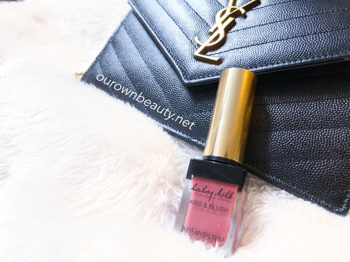 review swatch son kem ysl baby doll yves saint laurent lip cheek nude insolent