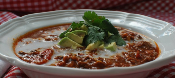 Beef Chili (Paleo and Whole 30 Compliant)