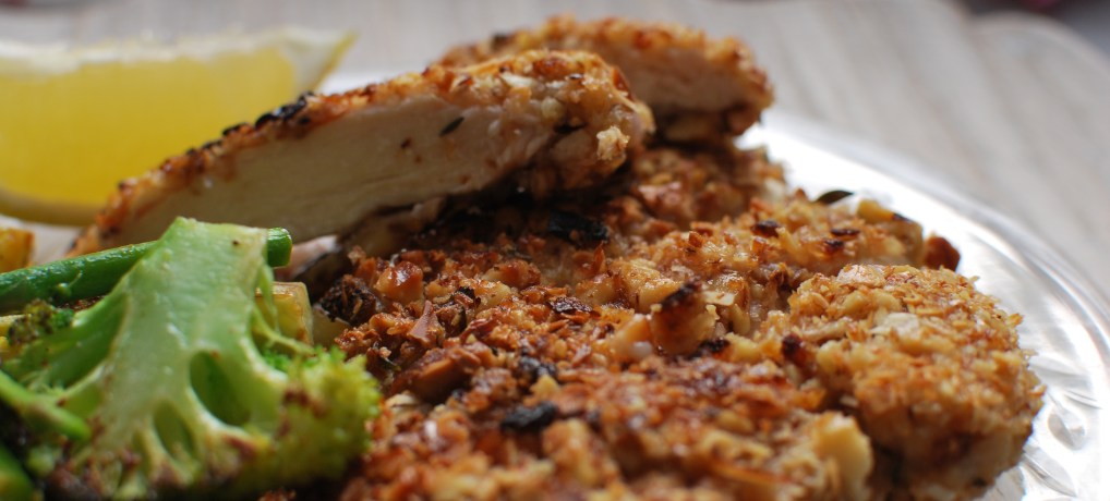 Crispy Nut-Crusted Chicken (Paleo and Whole 30)