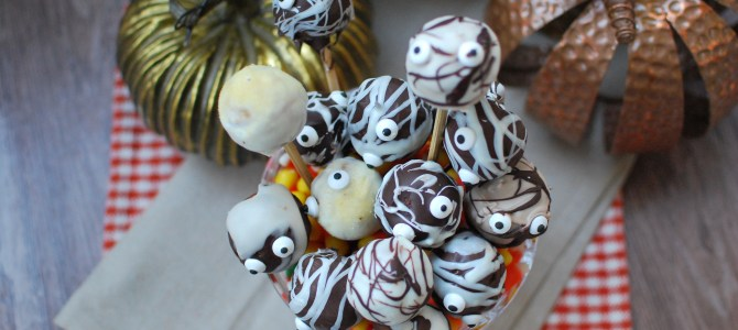 Boo-tiful (almost) Paleo Cake Pops