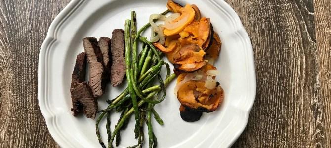 Grilled, Marinated Steak