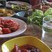 BEAUTIFUL and bountiful spread of food!