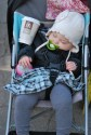 Strollers are useful for mom and dad, too