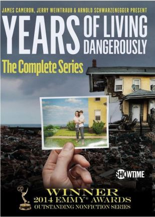 years of living dangerously flyer