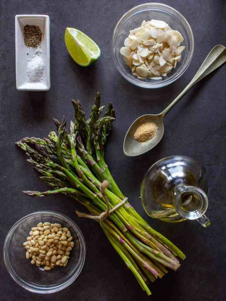 Grilled Asparagus Ingredients