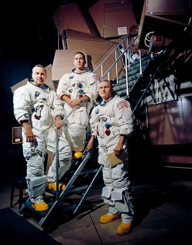 Apollo 8 Crewmembers