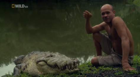 Chito and Pocho, a unique friendship between a human and a crocodile