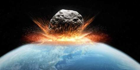 Doomsday asteroid