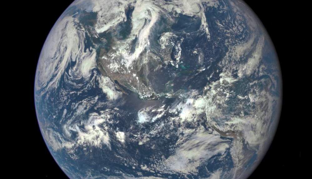 """EPIC"" Earth Image by NASA (July 06, 2015)"