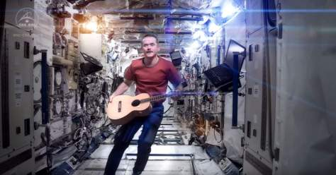 Chris Hadfield - Space Oddity - International Space Station cover