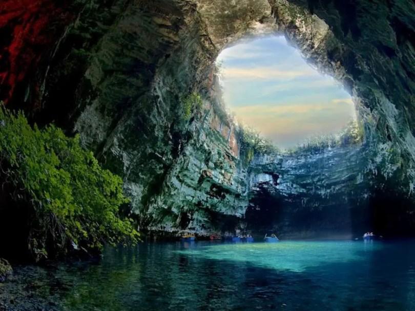Melissani Cave