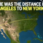 If Earth's life time was the distance from Los Angeles to New York City