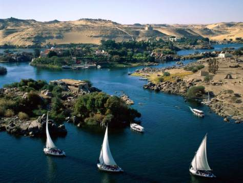 Driest Places on Earth - 4: Aswan, Egypt