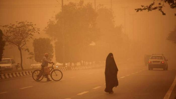 Sand storm in Ahvaz