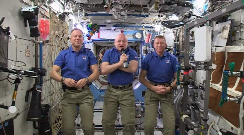Happy New Year Message from ISS