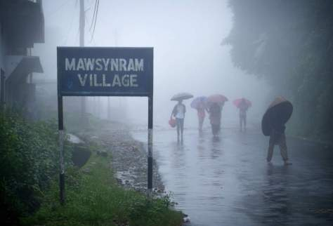 The wettest place on Earth: Mawsynram