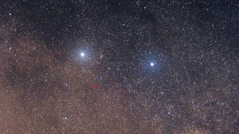 Alpha, Beta and Proxima Centauri