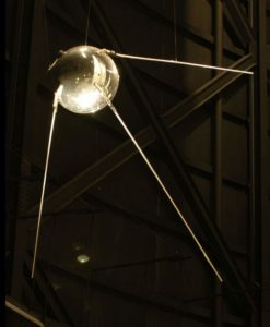 Earth facts - Replica of Sputnik 1
