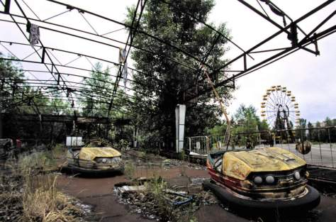 What would happen if humans become extinct - Pripyat amusement park after Chernobyl disaster